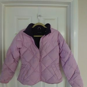 Girl's Lands End Puffer Jacket
